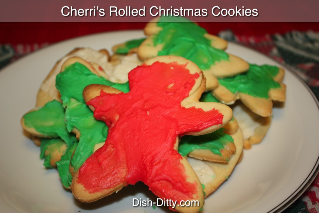 Cherri's Rolled Christmas Sugar Cookies