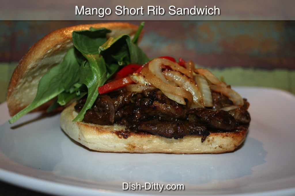 Mango Short Ribs Recipe by Dish Ditty Recipes