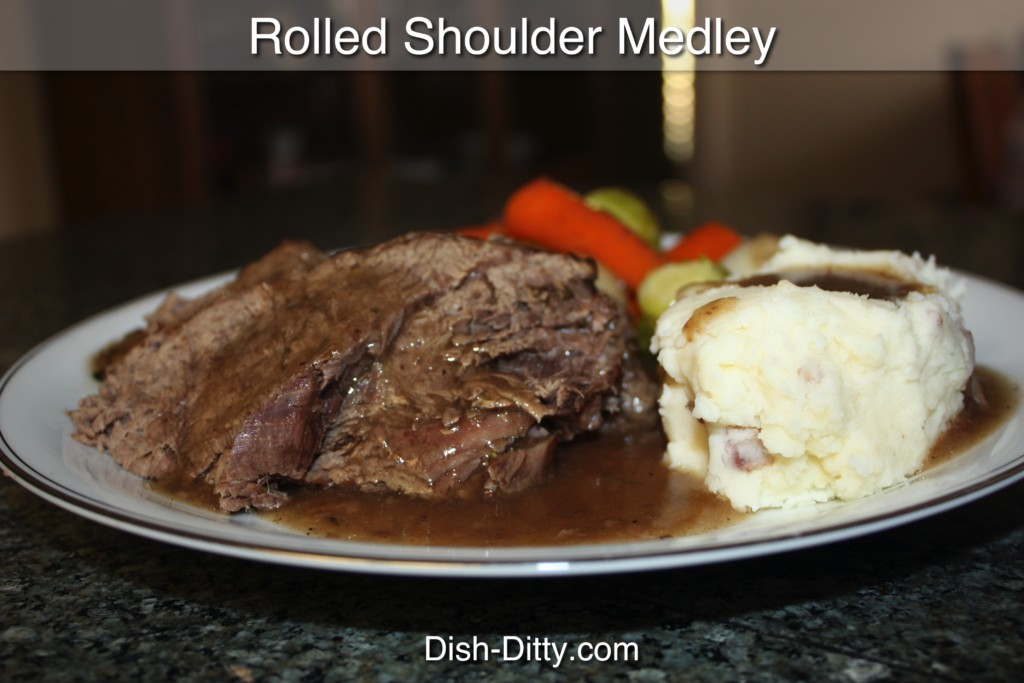 Rolled Shoulder Medley Recipe by Dish Ditty Recipes