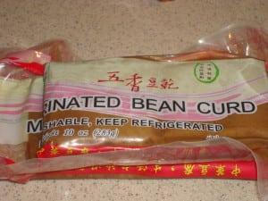 Marinated Bean Curd
