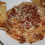 Cherri's Quick Spaghetti