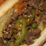 Carne Asada Cheesesteaks without cheese