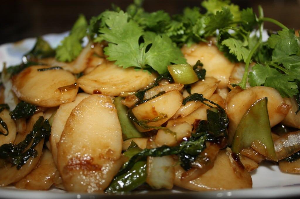 Vegetarian Rice Ovallettes