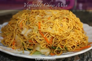 Vegetable Chow Mein Recipe by Dish Ditty Recipes