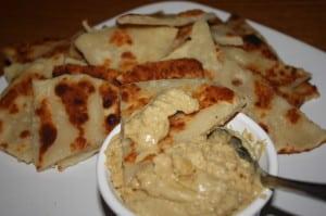 Serve with Hummus