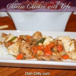 Chinese Chicken with Tofu
