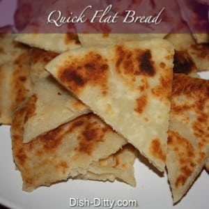 Quick Flat Bread