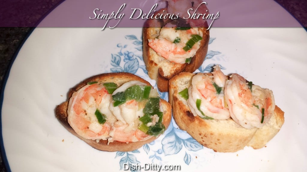 Simply Delicious Shrimp by Dish Ditty