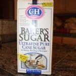 Use Bakers Sugar