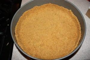 Refrigerate crust