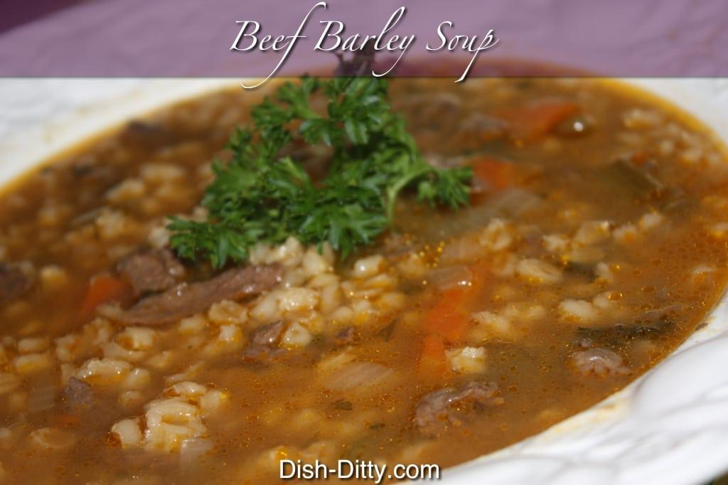Beef Barley Soup