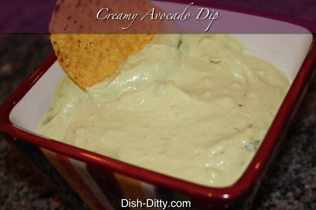 Creamy Avocado Dip