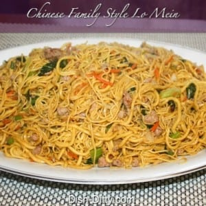 Family Style Asian Lo Mein
