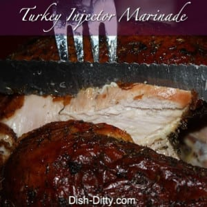 Turkey Injection Marinade