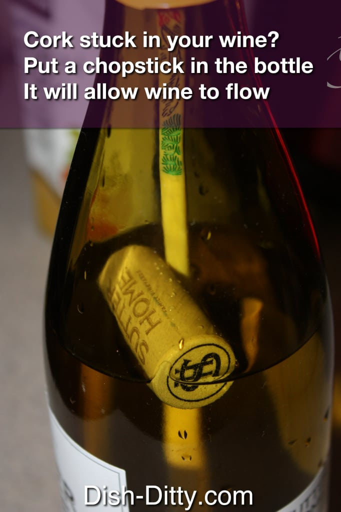 Wine cork help