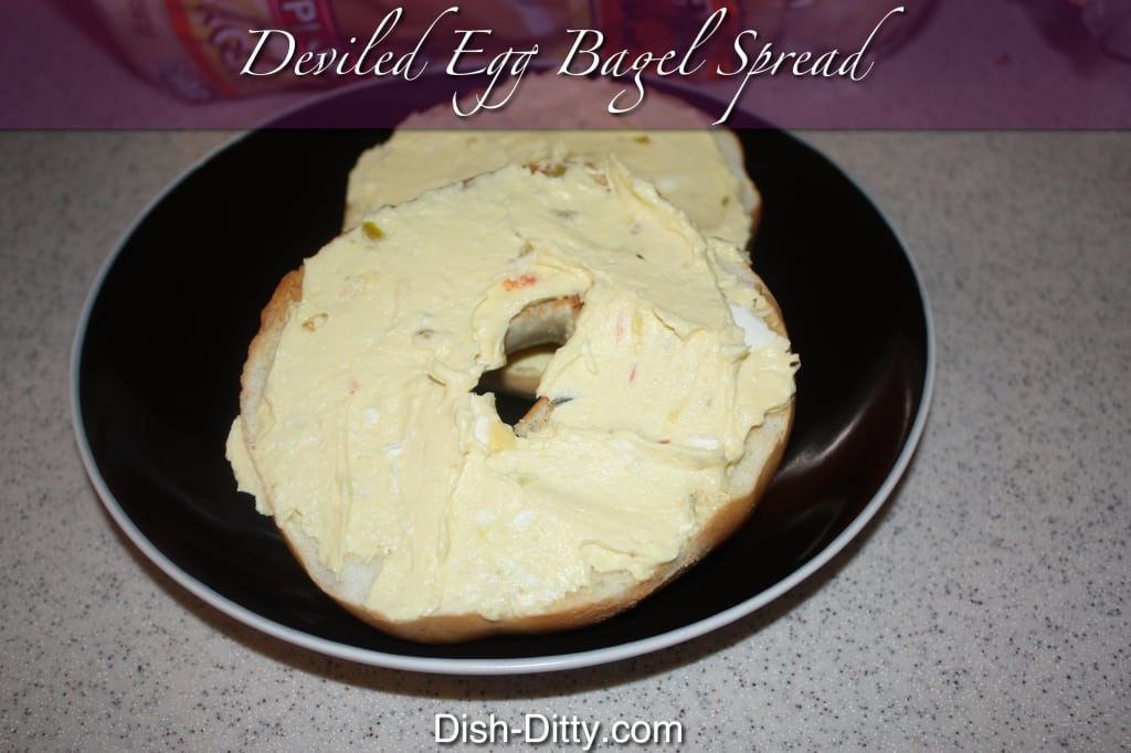 Deviled Egg Bagel Spread