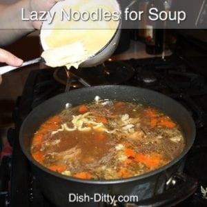 Lazy Noodles