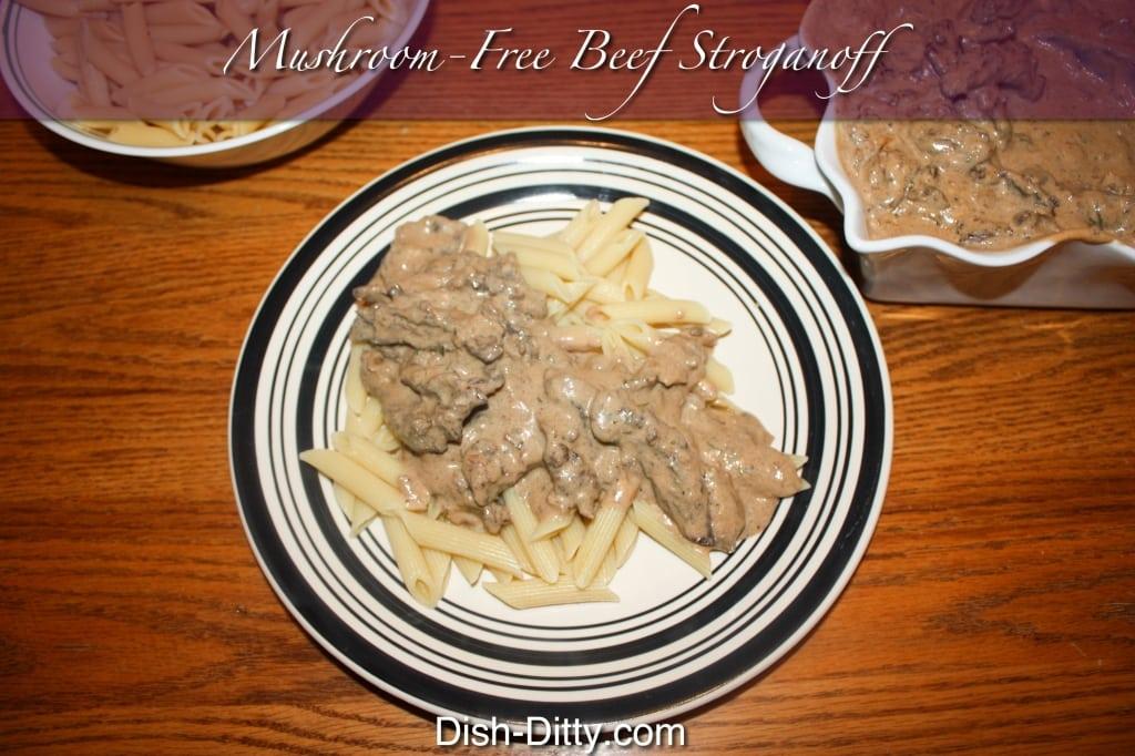 Mushroom Free Beef Stroganoff