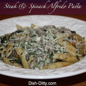 Steak & Spinach Alfredo