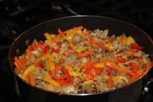 Add back vegetables