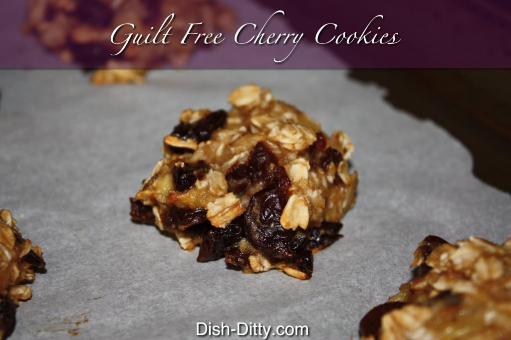 Guilt Free Cherry Cookies