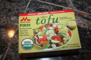 Used 2 pkgs of Silken Firm Tofu