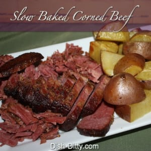 Slow Roasted Corned Beef & Cabbage