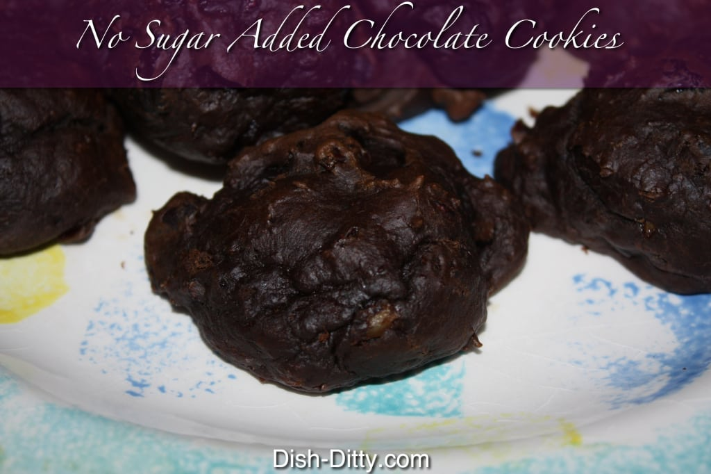 No Sugar Added Chocolate Cookies