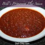 Bill's Primavera Plus Sauce by Dish Ditty
