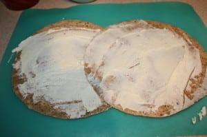 Layer tortillas