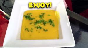 Eliza Makes Potato Leek Soup