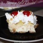 Grandma's Banana Split Dessert by Dish Ditty