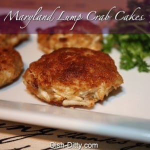 Maryland Style Lump Crab Cakes