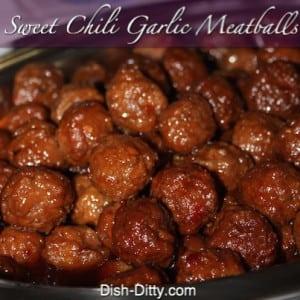 Sweet Chili Garlic Meatballs