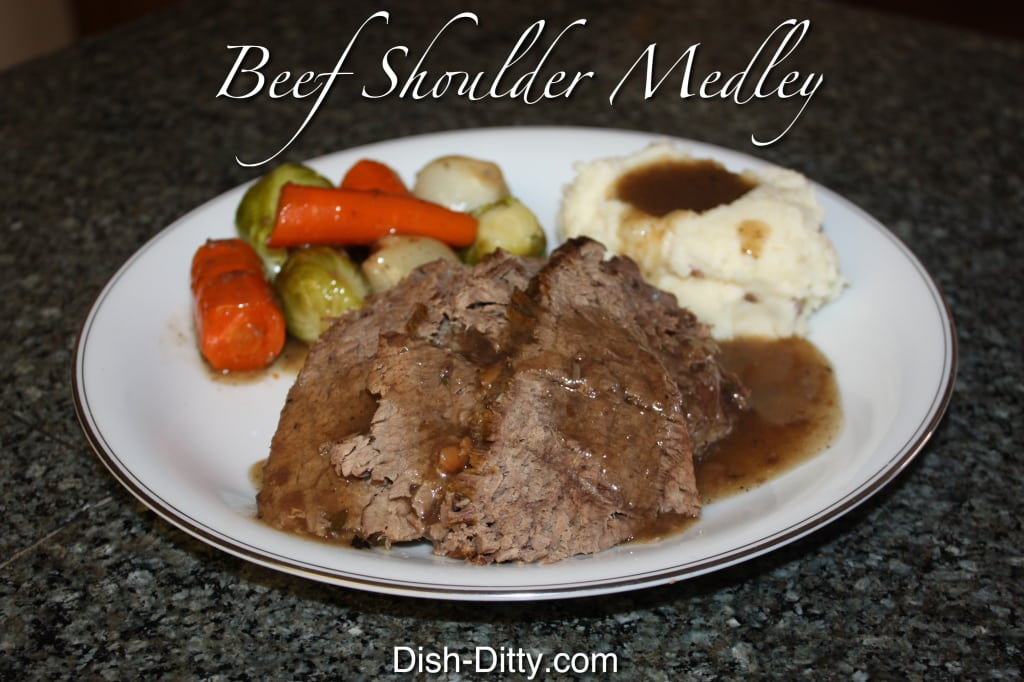Beef Rolled Shoulder Medley by Dish Ditty