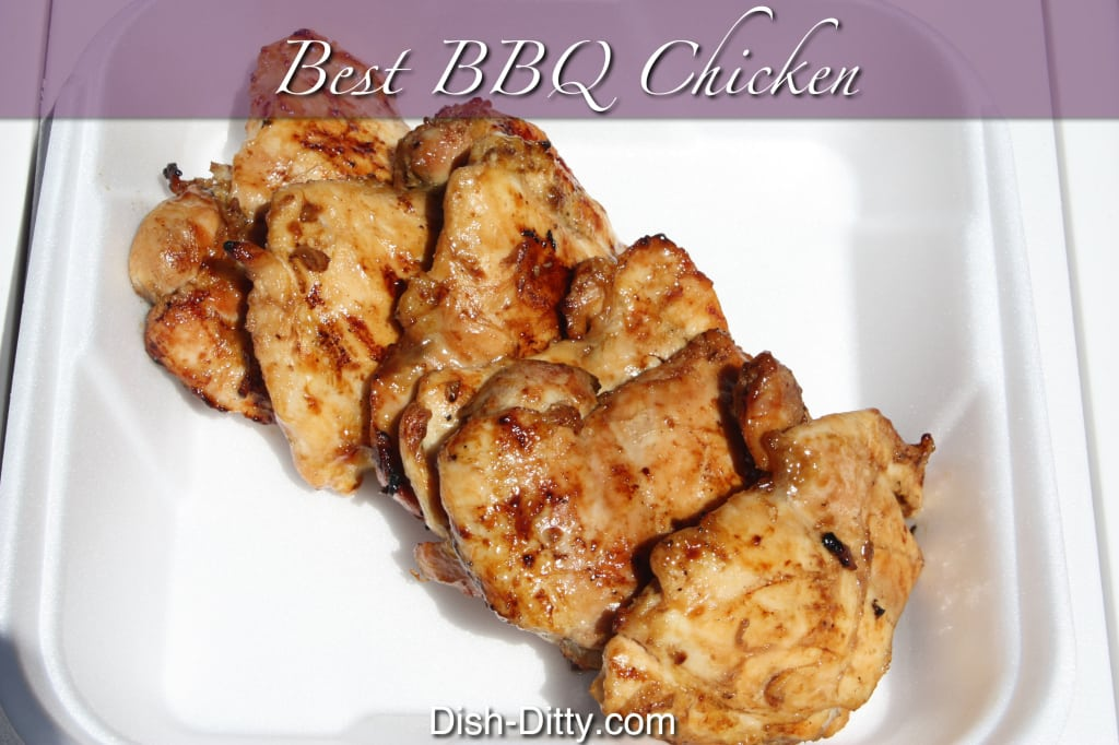 Best BBQ Chicken by Dish Ditty
