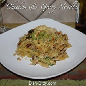 Chicken & Gravy Noodle Dinner