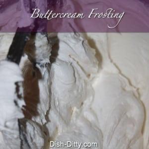 Buttercream Frosting