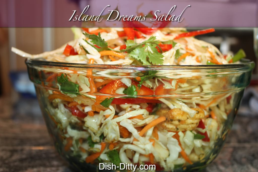 Island Dreams Salad Recipe by Dish Ditty