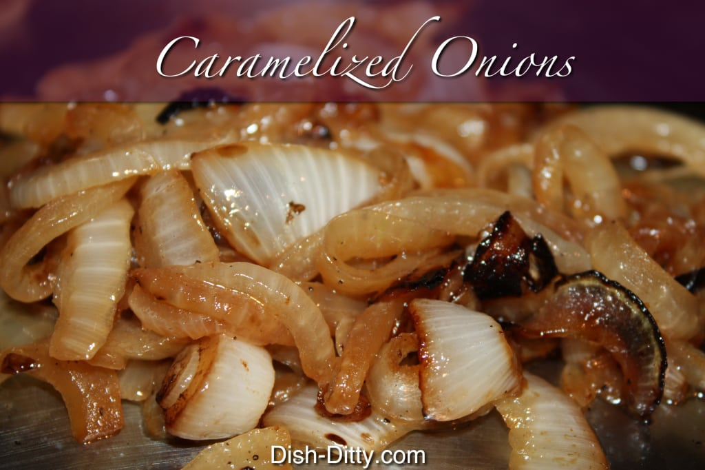 Caramelized Onions by Dish Ditty