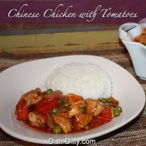 Chinese Chicken & Tomatoes