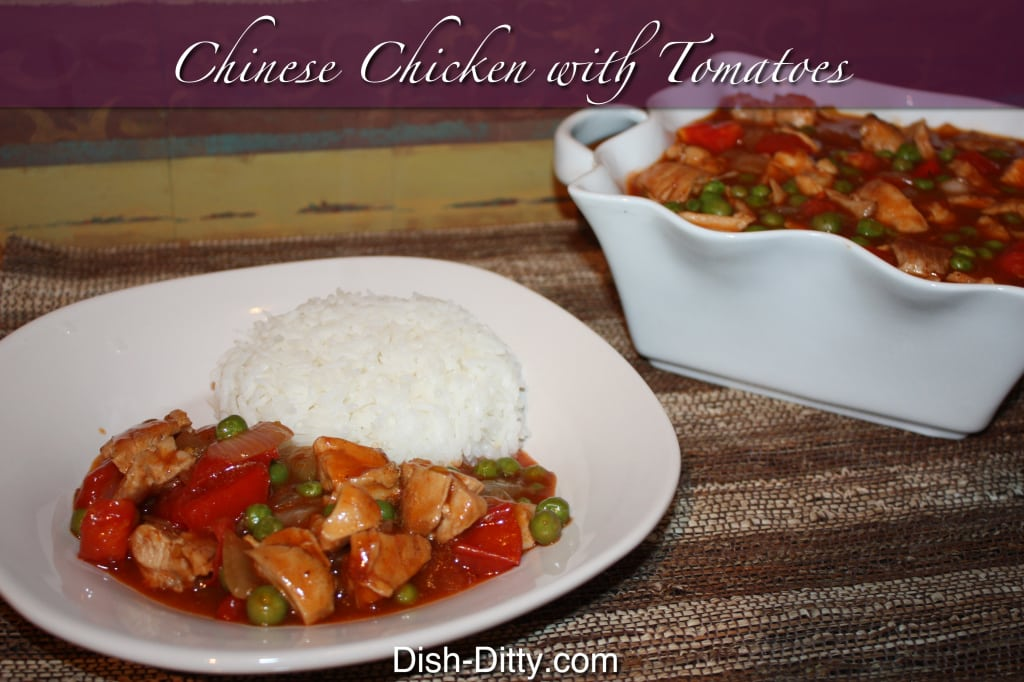 Chinese Chicken with Tomatoes by Dish Ditty