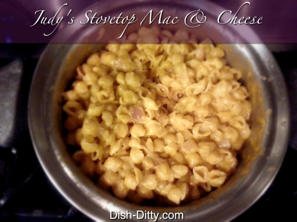 Judy's Stopvetop Macaroni & Cheese by Dish Ditty