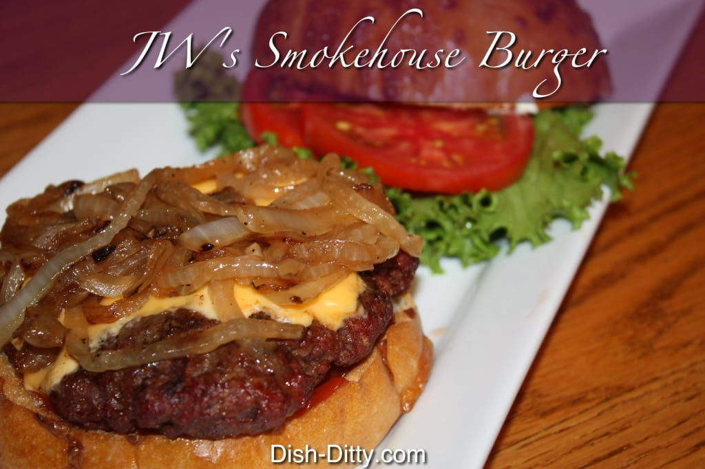 JW's Smokehouse Burger by Dish Ditty