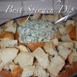 Best Spinach Dip