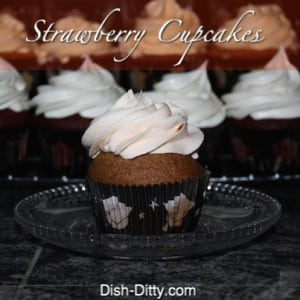 Fresh Strawberry Cupcakes (Dairy Free)