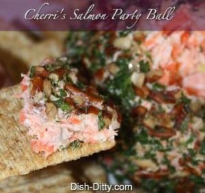 Smoked Salmon Party Ball