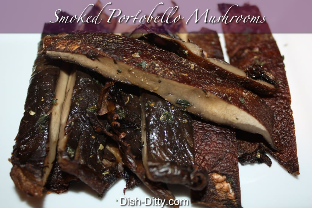 Smoked Portobello Mushrooms by Dish Ditty