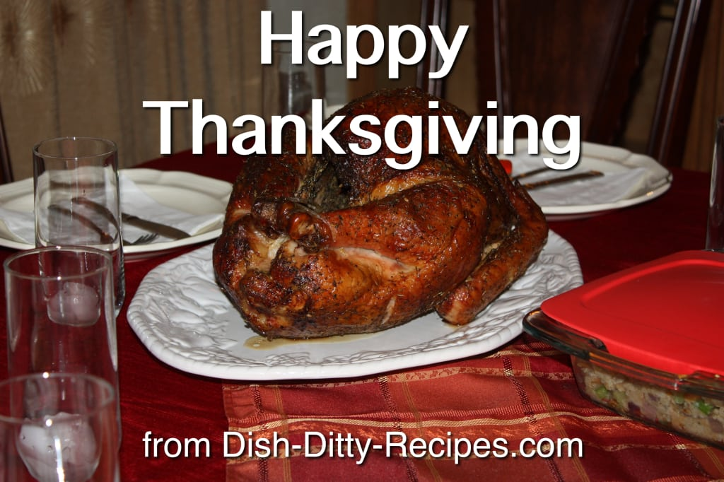 Happy Thanksgiving from Dish Ditty Recipes