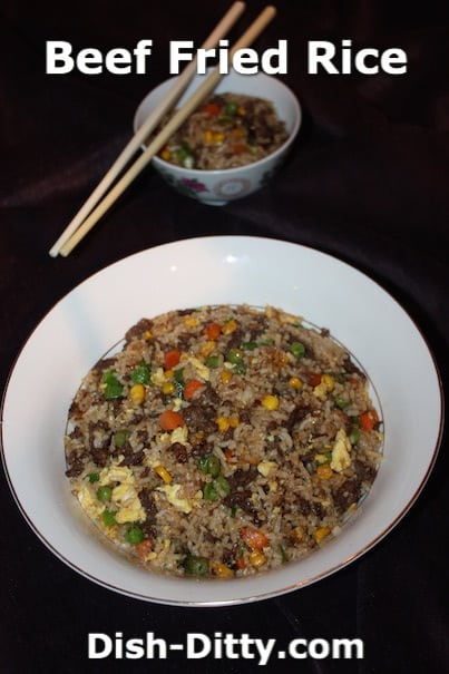 Chinese Beef Fried Rice by Dish Ditty